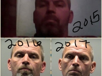 Before and after meth. 3 year span
